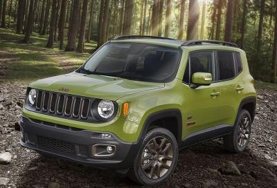 Jeep, la nuova gamma 75th Anniversary 2016