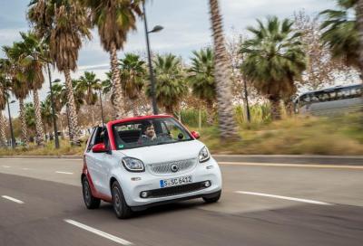 Nuova Smart fortwo cabrio, parte da 17.640 euro