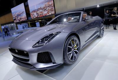 La Jaguar F-Type SVR 70 nuove immagini e 3 video