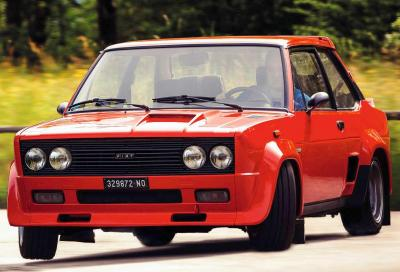 "Fiat 131 Abarth, ""rossa"" per marketing"