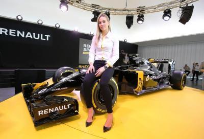 F1 Renault, questa è la nuova R.S.16.