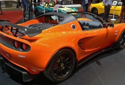Lotus Elise Cup 250, la più veloce di sempre
