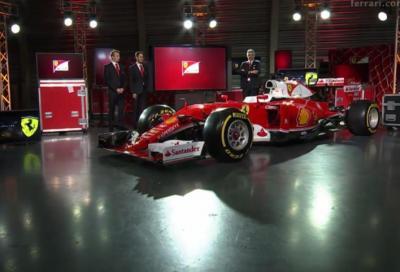 F1, questa è la nuova Ferrari SF16-H