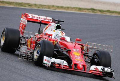 F1 2016, nei test a Barcellona Vettel il più veloce