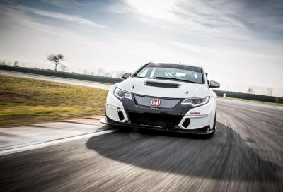 Civic Type R TCR, attenti all' Honda