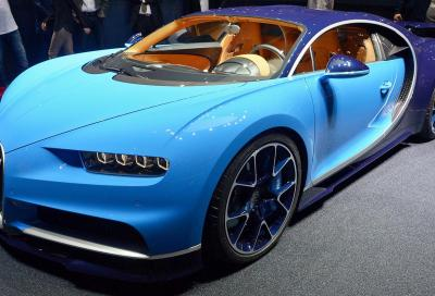 Bugatti, la nuova Chiron al Salone di Ginevra