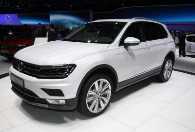 La Volkswagen Tiguan a Ginevra e i prossimi SUV in arrivo