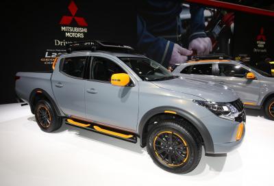 Mitsubishi ASX e L200 GEOSEEK e la eX Concept a Ginevra