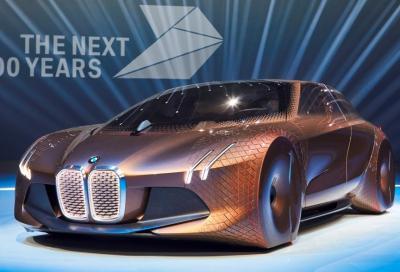 VISION NEXT100, la nuova futuristica concept BMW