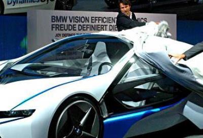 BMW Vision e Salone di Francoforte