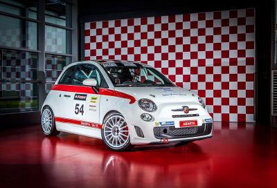 """Abarth 595 """"OT"""" pronta per il Campionato Italiano Turismo e il Trofeo Abarth Selenia"""