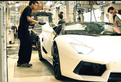 Lamborghini premiata con l' Innovation Award alla Jec Composites 2016 di Parigi