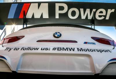 BMW, presentato il Team Italia e l' M6 GT3