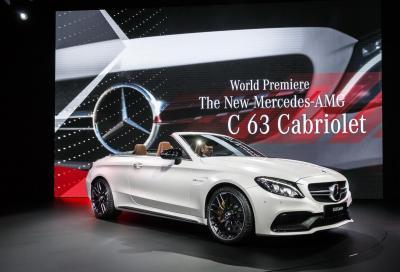 La nuova Mercedes-AMG C63 Cabrio a NY