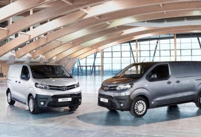 Nuovo Toyota Proace Van, massima versatilità