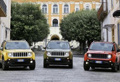 Jeep, un pieno di novità per la Renegade