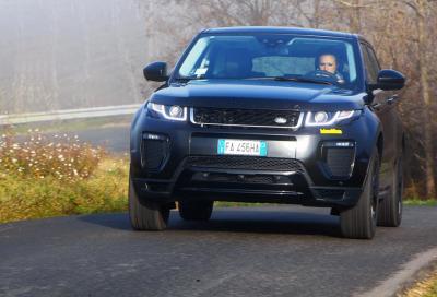 Range Rover Evoque TD4 180 Cv, la nostra prova
