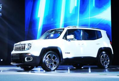 Jeep Renegade, al via la produzione in Cina