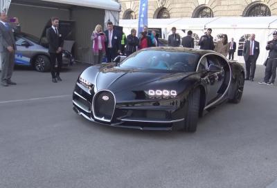 Video, la nuova Bugatti Chiron al Vienna Motor Symposium