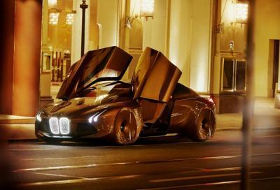 BMW, la nuova VISION NEXT 100 è esposta in Cina