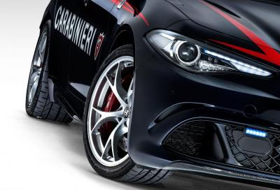 Alfa Romeo, due nuove Giulia Quadrifoglio all' Arma dei Carabinieri