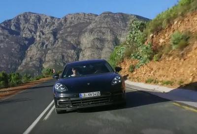 Porsche Panamera, un nuovo teaser