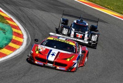 WEC - Bird, Rigon e la Ferrari 488 GTE si impongono a Spa-Francorchamps