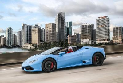 Lamborghini Huracan LP610-4 Spyder, video e nuove immagini