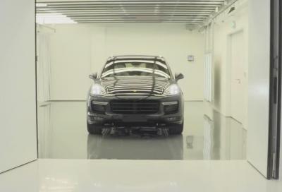 Video, la produzione nello stabilimento Porsche di Zuffenhausen