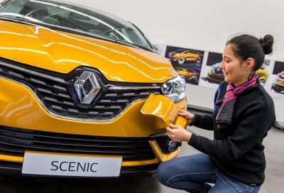 Nuova Renault Scénic 2016, focus sul design
