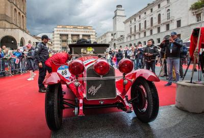 Alfa Romeo protagonista alla Mille Miglia 2016