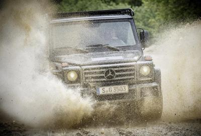 Mercedes-Benz G350d Professional, ancora più efficace in off road