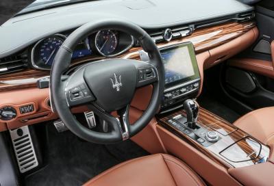 Maserati, 60 nuove immagini e tutte le caratteristiche della rinnovata Quattroporte