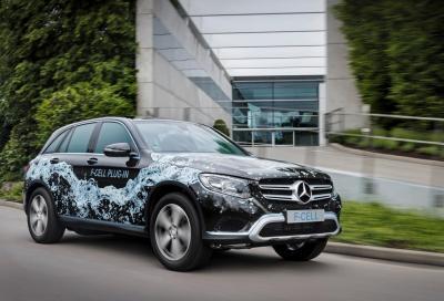 Mercedes; elettrificheremo ogni modello e dal 2017 arriverà la GLC F-Cell plug in