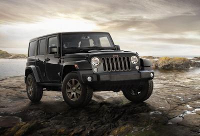 La nuova Jeep Wrangler 75th Anniversary in edizione limitata