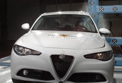 Alfa Romeo, la Giulia conquista le 5 stelle Euro NCAP