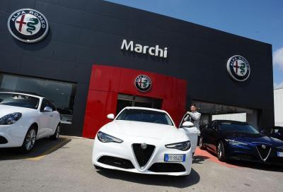 Consegnate in Italia le prime Alfa Romeo Giulia