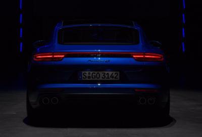 La nuova Porsche Panamera 2017