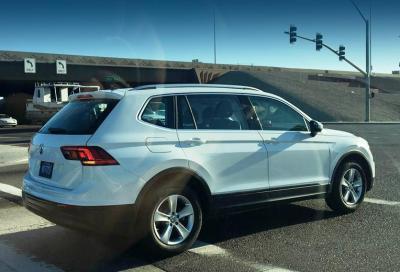 Volkswagen Tiguan XL a 7 posti, avvistata anche in USA