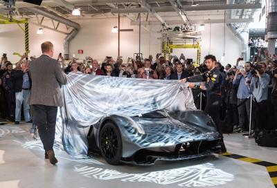 AM-RB 001, la nuova radicale hypercar Aston Martin e Red Bull