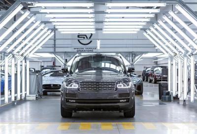 Jaguar e Land Rover SVO, un nuovo Centro Tecnico da 20.000 mq
