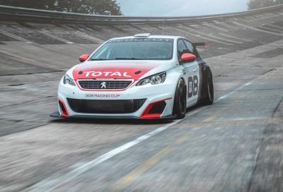 Nuova Peugeot 308 Racing Cup, nata per correre