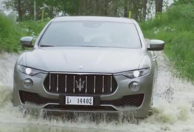 VIDEO: La nuova Maserati Levante impegnata a Balocco