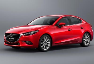 La nuova Mazda3 MY 2017 in vendita in Giappone