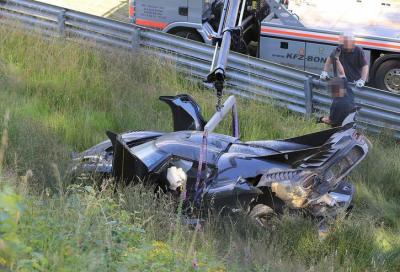 VIDEO: Koenigsegg One:1 crash al Nürburgring, mentre è a caccia del record