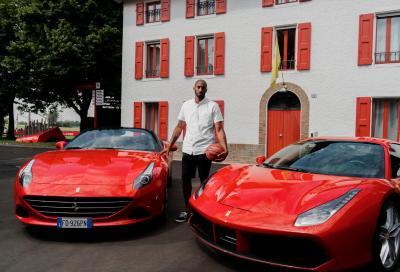 NEWS: Kobe Bryant in visita a Maranello