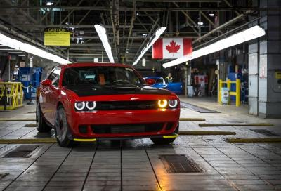 MUSCLE CARS: Così nascono le Dodge Challenger e Charger