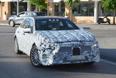 SPY: Nuova Mercedes Classe A (W177), arriverà nel 2018