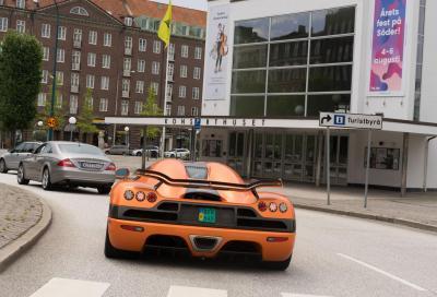 RADUNI: Koenigsegg 2016 Owners Tour, foto e video