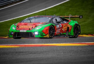 Le Lamborghini Huracán GT3 alla 24 Ore di Spa-Francorchamps, tutti i numeri
